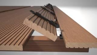 Unsichtbare Terrassenmontage mit dem HECO-Clipperset