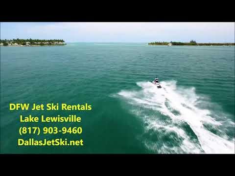 Jet Ski Rental Dallas Fort Worth - Based In Lake Lewisville - Dallas, Tarrant, Denton, Collin County - Видео онлайн