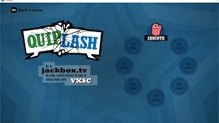 Quiplash | Jackbox Games | Livestream Party Game | Anyone can join!