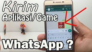 """Download lagu Trik Luar Biasa !!! Kirim Aplikasi, Game lewat """"WhatsApp"""" ??? - Bisa Nih..."""