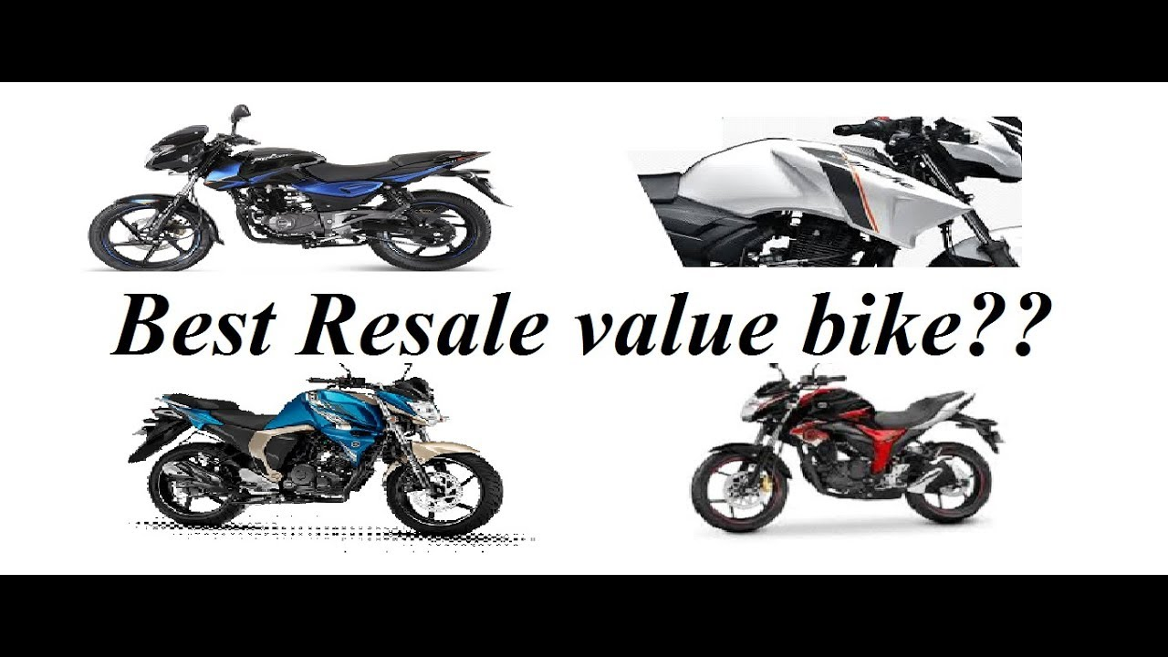 Which One Is Best Resale Value Bike Apache 160 Pulsar 150 Fzs Hornet 160 Or Gixxer Youtube