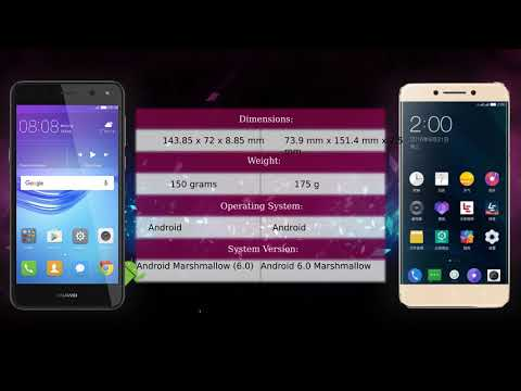 Huawei Y6 2017 Vs LeEco Le Pro 3 X722 - Phone Comparison