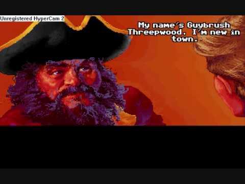 Let's Play Secret of Monkey Island - Part 1 [Guybrush meets Mancomb] -  YouTube
