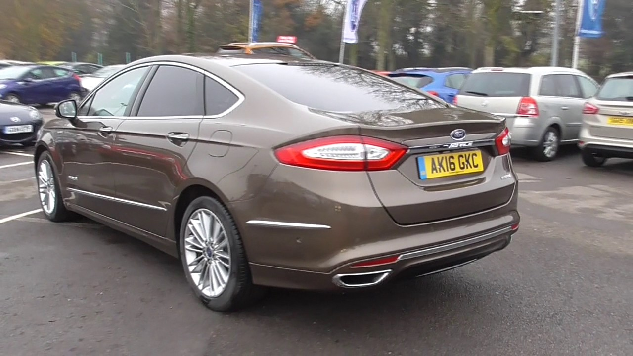 ford mondeo vignale 2 0 hybrid 4dr auto u33554 youtube. Black Bedroom Furniture Sets. Home Design Ideas