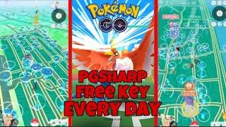 Hack PGSHARP Free Key Everyday | Pokemon Go Spoofing | Pokemon Go Hack Android July 2020