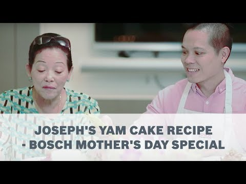 Joseph's Yam Cake Recipe - Bosch Mother's Day Special
