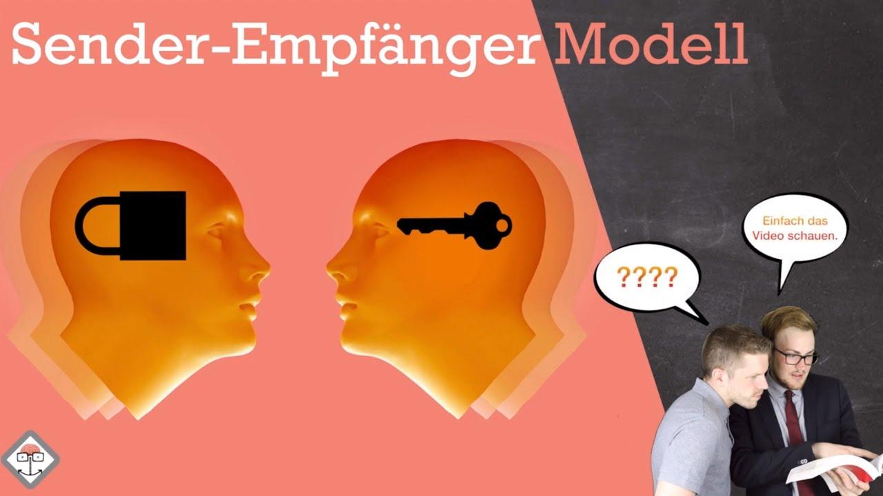 Sender Empfänger Modell Beispiel