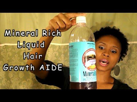 Hair Growth Vitamins >> Mineral Rich For LONG Hair Growth!! 2014 - YouTube