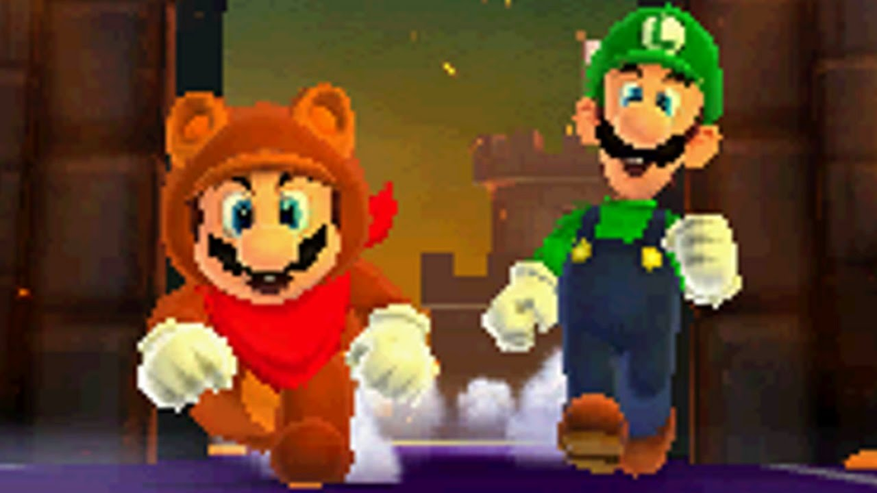 Super Mario 3d Land Walkthrough Part 9 Special World 1 Youtube