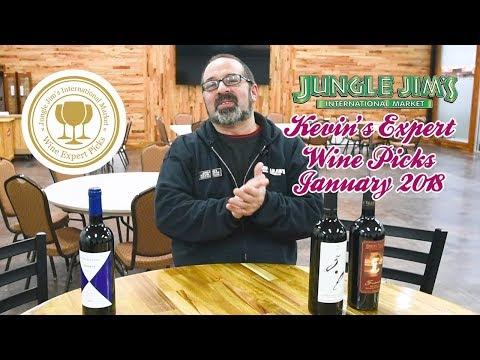 Kevin's Expert Wine Picks For January 2018