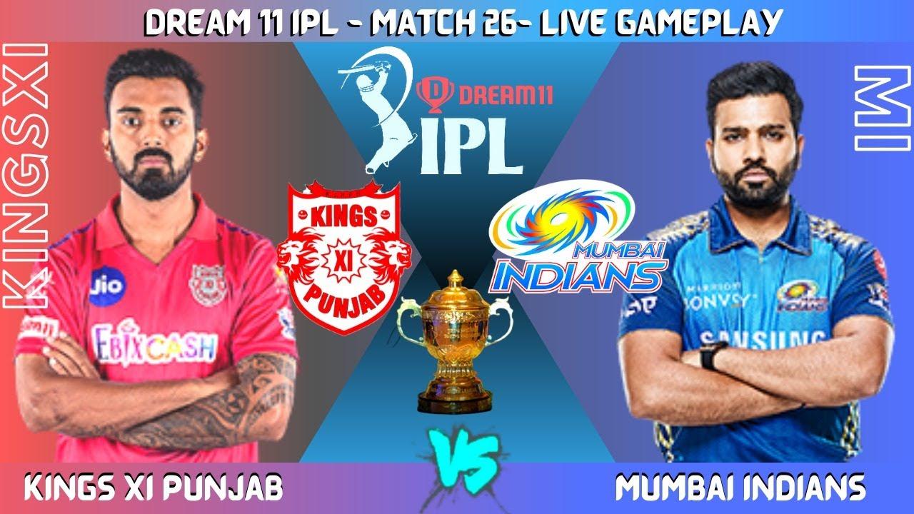 MIvsKINGSXI - IPL 2020 Match 26 - Cricket19 Live! ♥Membership in 59rs only♥ ! BlackOps GamingYT
