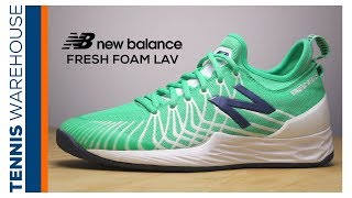 Insider look at the New Balance Tennis Fresh Foam Lav