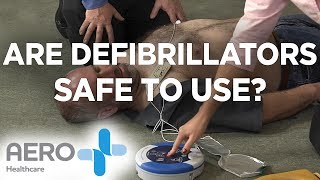 Are defibrillators safe to use?
