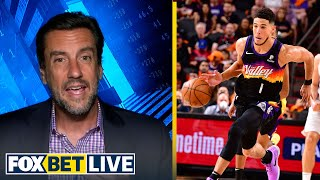 'I think the Suns are going to win this in a sweep' — Clay Travis | NBA | FOX BET LIVE