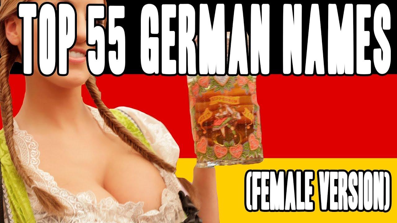 Top 55 German Names Female Version Copycatchannel