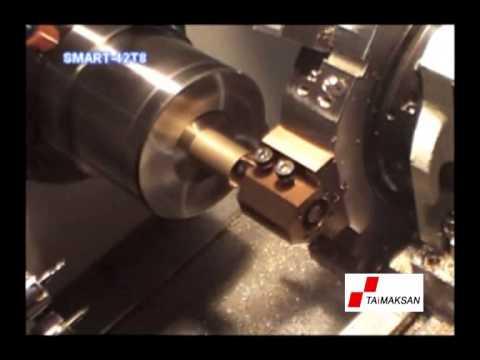 CNC Otomat Torna Tezgahı - SMART 42T8