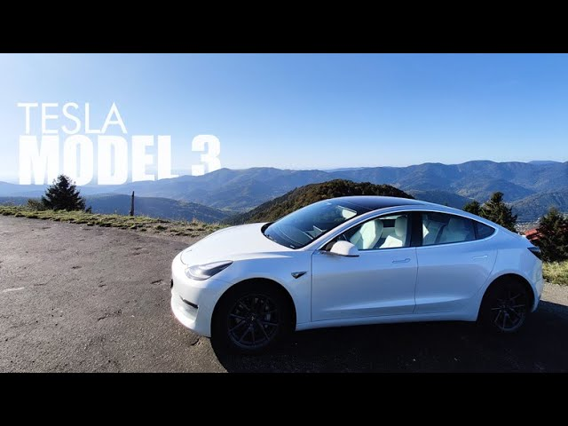 TESLA MODEL 3, le test et la location