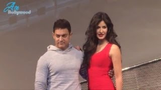 Sexy Katrina With Aamir to Unveil 1st Celibrity Dolls