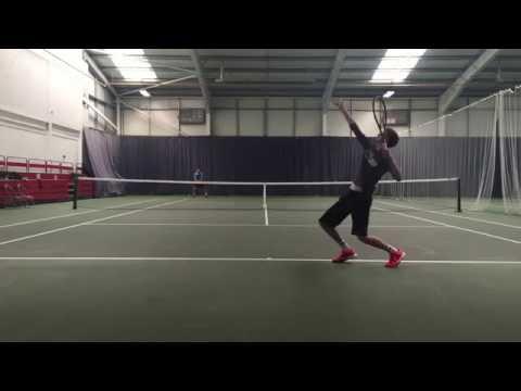 Finnbarr Adams Tennis Smart Video Fall 2017