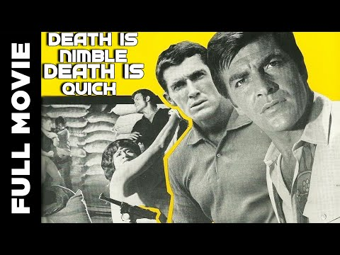 Death Is Nimble Death Is Quick | Action Adventure Movie | Tony Kendall, Brad Harris
