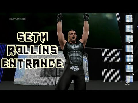 WWE 2K15: How To Make Seth Rollins New Entrance
