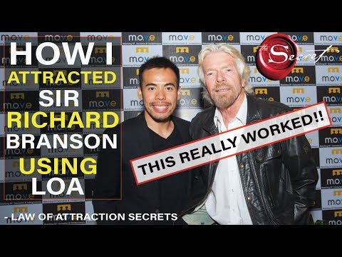How to Attract a Specific Person Using Law of Attraction Richard Branson!