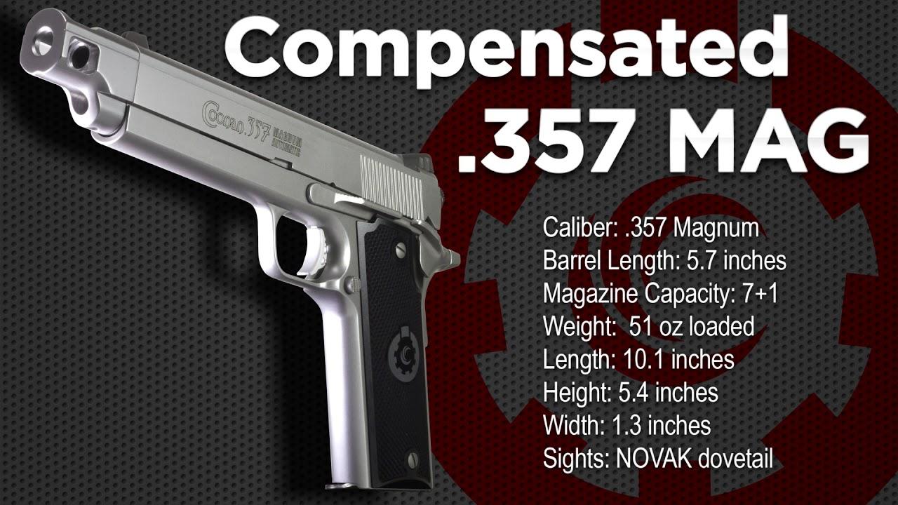 Coonan  357 Magnum Compensated Specs
