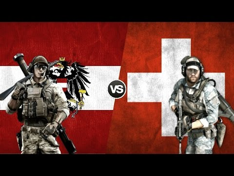 AUSTRIA VS SWITZERLAND - Military Power Comparison 2017
