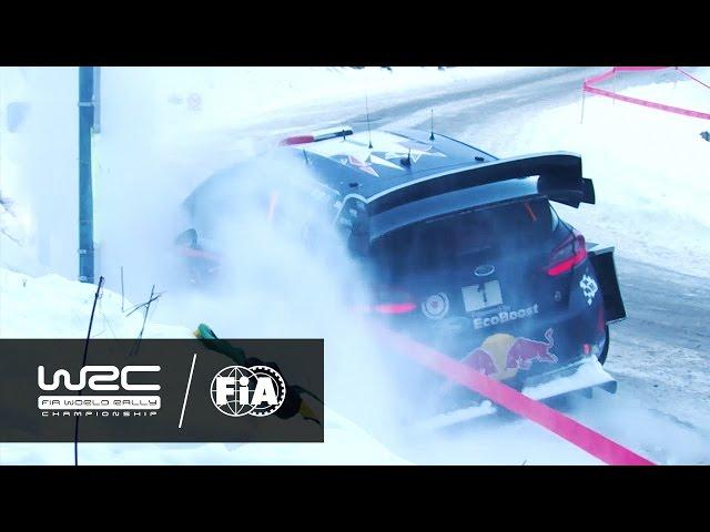 WRC - Rallye Monte-Carlo 2017: OGIER in ditch (SS3)