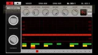 Audioid 1.4.0 - Distortion against a bassline