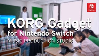 From a music class in Japan | KORG Gadget for Nintendo Switch