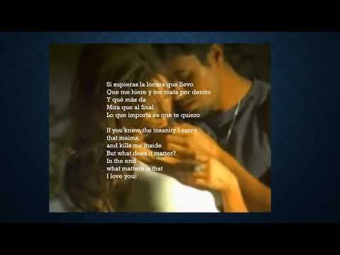 ENRIQUE IGLESIAS - HERO ( SPANISH SONG WITH ENGLISH AND SPANISH LYRICS TRANSLATION)
