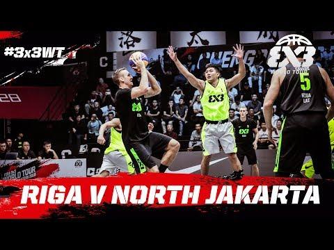 Riga v North Jakarta | Full Game | FIBA 3x3 World Tour 2018 - Chengdu Masters