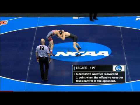 2015 NCAA 149 Lb Final: Drake Houdashelt (Mizzou) V Dave Habat (BORO)