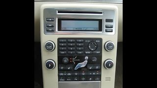 How to remove 2008 Volvo S80 DIC a/c radio display
