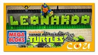 МЕГА БЛОКС Черепашки-Ниндзя | MEGA BLOKS Ninja Name Builder | Teenage Mutant Ninja Turtles