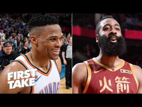 James Harden or Russell Westbrook, who has the more impressive streak? | First Take