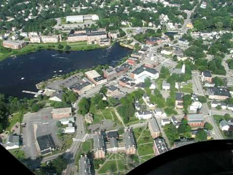 Exeter, NH by helicopter