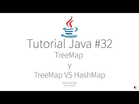 Tutorial java #32 - TreeMap y TreeMap Vs HashMap