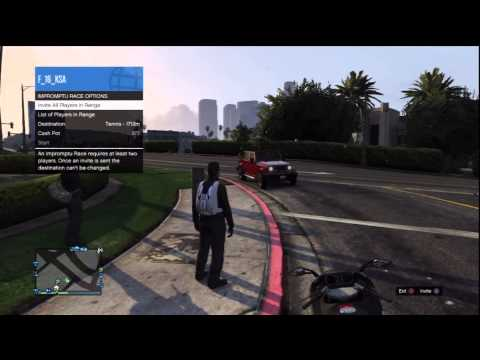 Review the INTERACTION MENU in GTA ONLINE | اعدادات SELECT