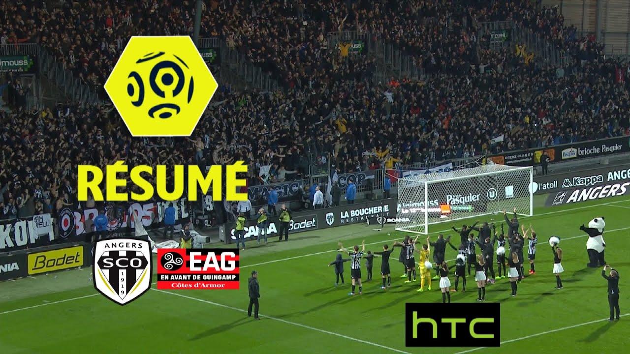 Angers SCO - EA Guingamp (3-0) - Rsum - (SCO - EAG) / 2016-17