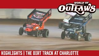 World of Outlaws Craftsman Sprint Cars The Dirt Track at Charlotte Highlights
