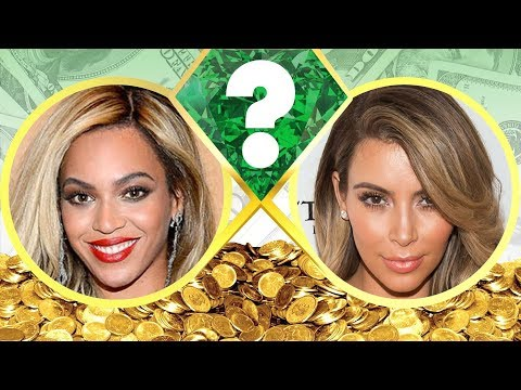 WHO'S RICHER? - Beyonce or Kim Kardashian? - Net Worth Revealed! (2017)