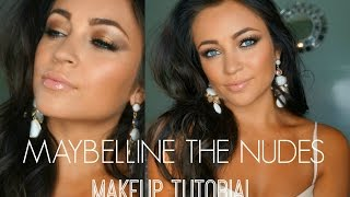 Maybelline The Nudes Makeup Tutorial ♡ Thumbnail