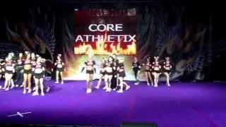 core athletix black diamonds senior small coed level 5 glcc 2013