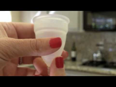 How To Insert Diva Cup Menstrual Cup