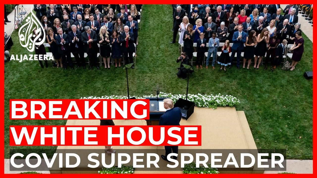 US: Was a White House event a COVID-19 super spreader?