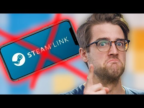 Apple says NO STEAM LINK FOR YOU!