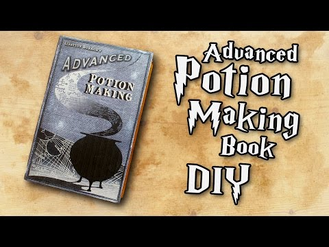 Harry Potter Advanced Potion Making Book DIY (QUICK & EASY)