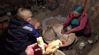 Традиционный дагестанский хлеб . Часть 2